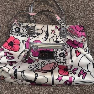 Coach Poppy Collection Large Purse